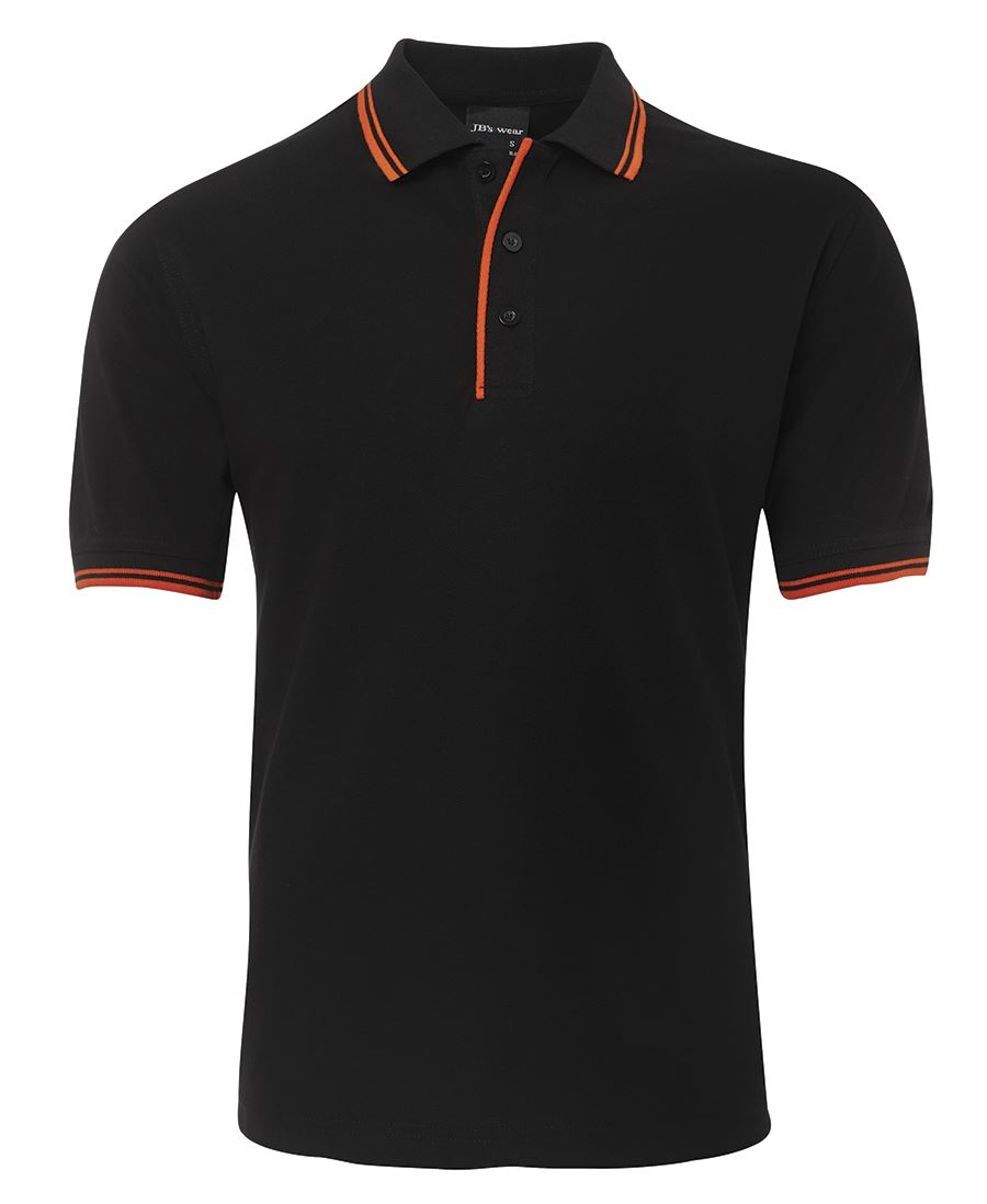 Poly-Cotton Contrast Polo