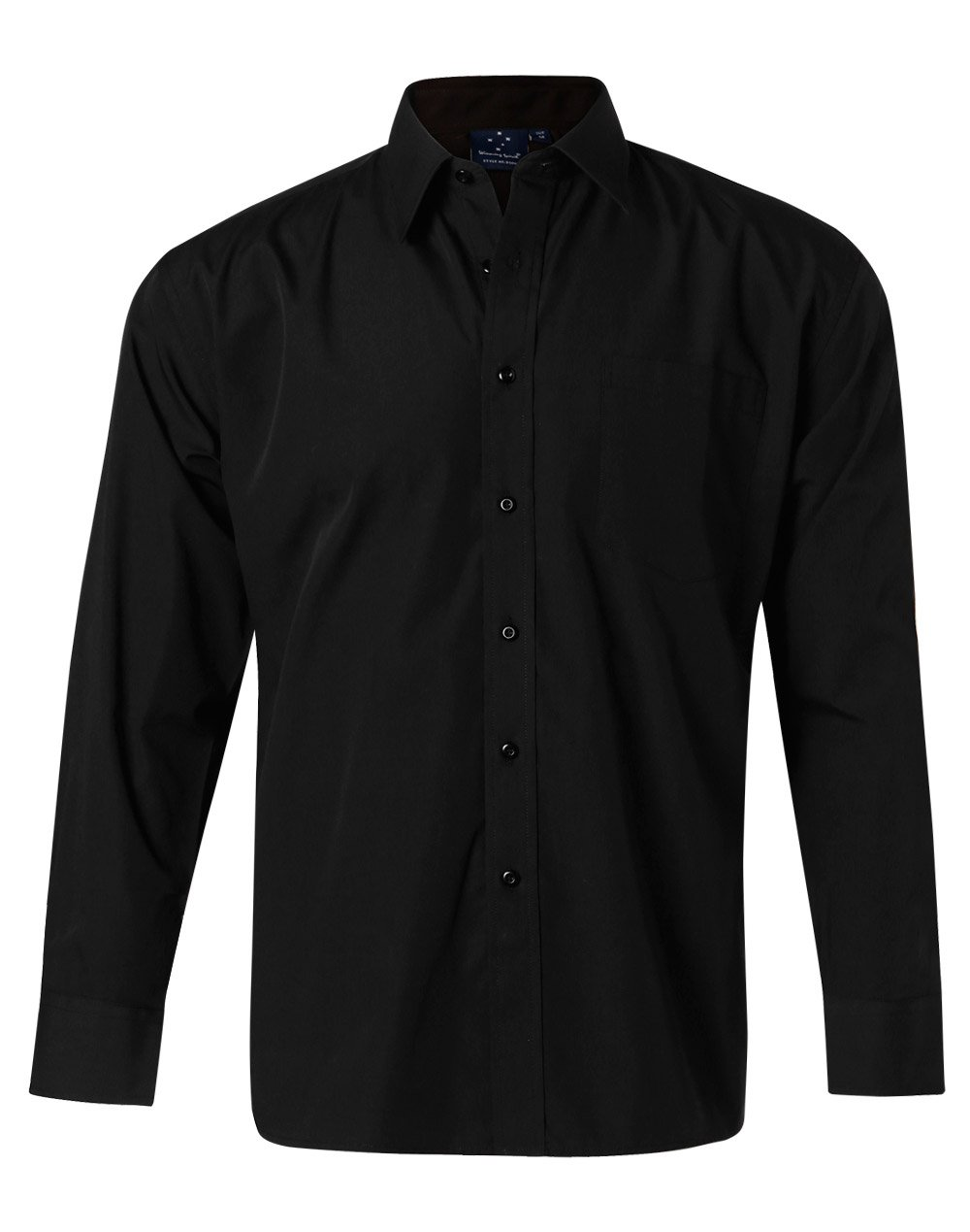 Men's Poplin Long Sleeve Business Shirt
