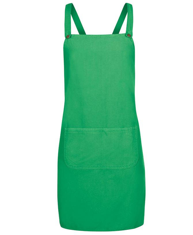 Cross Back Canvas Apron (Without Straps)