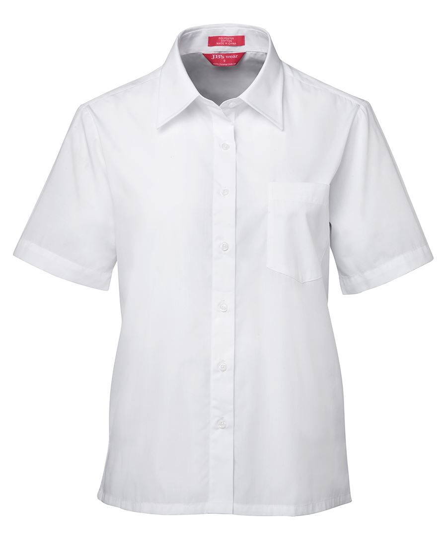 JB's Ladies S/S Original Poplin Shirt