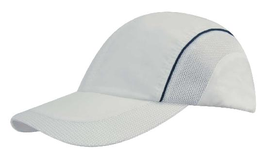 Spring Woven Fabric with Mesh to Side Panels and Peak