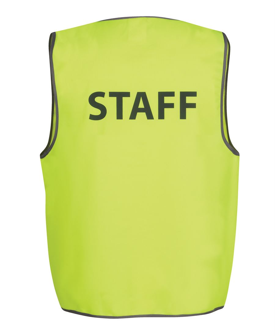 Hi Vis Safety Vest Staff